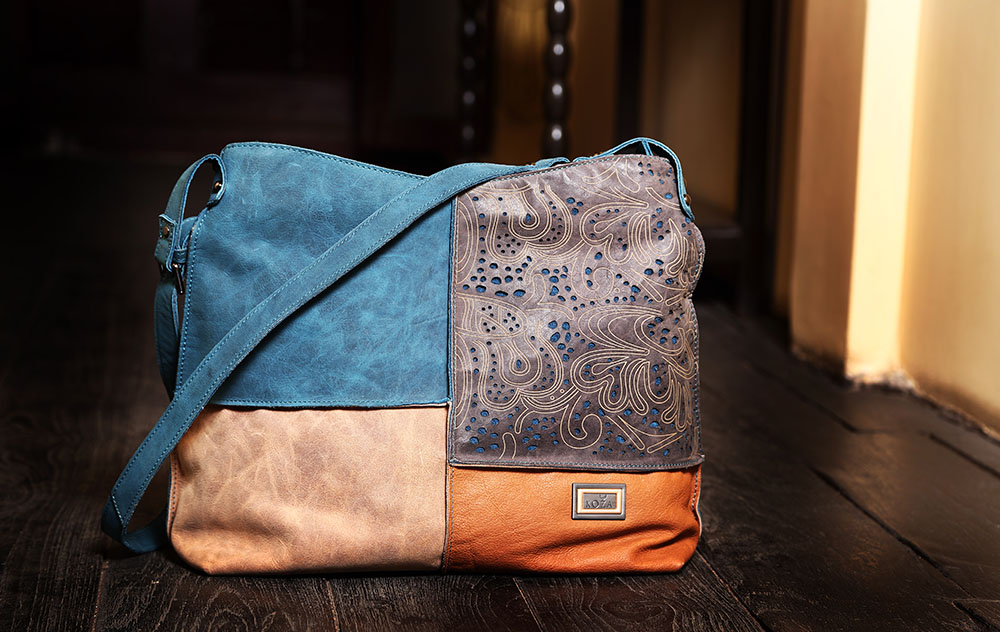 Pure and Natural Leather Shouder Bag_03